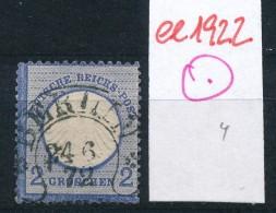 D.-Reich  Nr. 5 -STEMPEL   (ee1922  ) Siehe Scan - Germany