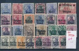 DR-Besetzungen      Lot (oo3536  ) Siehe Scan - Besetzungen 1914-18