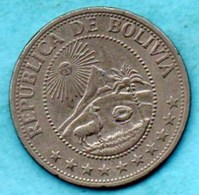 (r65)   BOLIVIA / BOLIVIE  1 Peso Boliviano 1968 - Bolivie