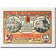 Billet, Allemagne, Kranichfeld, 50 Pfennig, Maison, 1921, 1921-02-22, SPL - Other