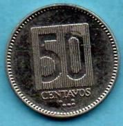 (r65)   ECUADOR / EQUATEUR   50 Centavos 1988 - Equateur