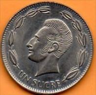 (r65)   ECUADOR / EQUATEUR   1 SUCRE 1988 - Equateur