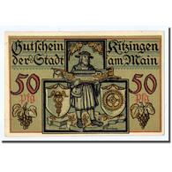 Billet, Allemagne, Kitzingen, 50 Pfennig, Tour, 1921, 1921-02-01, SPL - Other