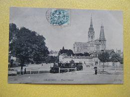 CHARTRES. La Place Châtelet. - Chartres