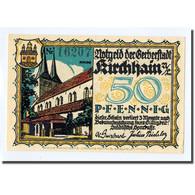 Billet, Allemagne, Kirchhain, 50 Pfennig, Personnage, 1921, 1921-08-01, SPL - Other