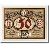 Billet, Allemagne, Jessnitz, 50 Pfennig, Manoir, 1921, SPL, Mehl:659.2 - Other