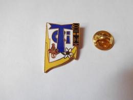 Beau Pin's En EGF , Armée Militaire ?? CTI , Signé Démons & Merveilles - Militaria