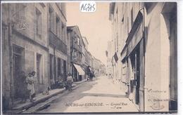 BOURG-SUR-GIRONDE- GRAND RUE- LE BUREAU DE TABACS - France