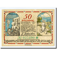 Billet, Allemagne, Lutzhoft, 50 Pfennig, Paysage, 1920, 1920-07-01, SPL - Other