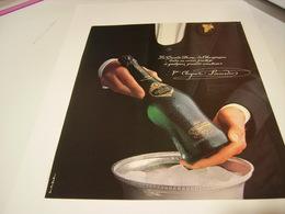 ANCIENNE PUBLICITE CHAMPAGNE VEUVE CLICQUOT PONSARDIN 1983 - Alcohols