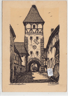 CPM GF -22981-68 -Ammerschwihr - Tour - Dessin Signé Klippstiehl - France