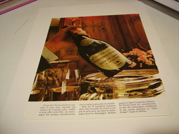 ANCIENNE PUBLICITE LE CHAMPAGNE  PERRIER - JOUET  1972 - Alcohols