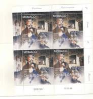 Monaco PO 1998 Cent.Ann. Garnier   Blocco Da 04 Scott.2075+ See Scan On Marini Album - Mónaco