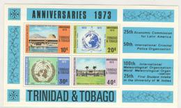 4183 - Anniversaires 1973 - Trinité & Tobago (1962-...)