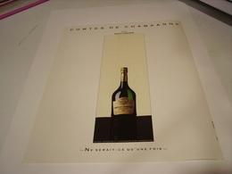 ANCIENNE PUBLICITE COMTES DE  CHAMPAGNE TAITTINGER 1986 - Alcohols