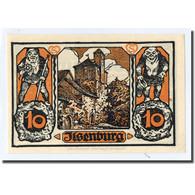 Billet, Allemagne, Ilsenburg, 10 Pfennig, Paysage 1, 1923, 1923-01-01, SPL - Other