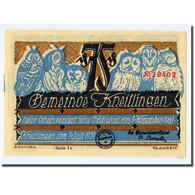 Billet, Allemagne, Kneitlingen, 75 Pfennig, Personnage, 1921, 1921-11-01, SPL - Other