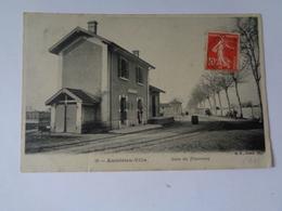 AMBERIEU -VILLE : Gare Du Tramway , N°18 - France