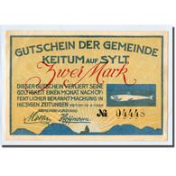Billet, Allemagne, Keitum, 2 Mark, Personnage, 1920, 1920-04-15, SPL, Mehl:685.1 - Other