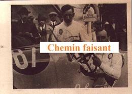 Chromo Cigarettes Du GLOBE DF - Automobiles De Course : SENECHAL -  Scans Recto-verso - Other Brands