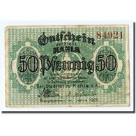 Billet, Allemagne, Kahla, 50 Pfennig, Graphique, 1920, SPL - Other