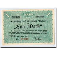 Billet, Allemagne, Itzehoe, 1 Mark, Personnage, 1920, 1920-08-02, SPL - Other