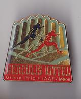 PIN'S   THEME ATHLETISME  GRAND PRIX DE MONACO HERCULIS  SPONSOR VITTEL - Athletics