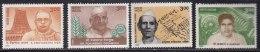 India MNH 1999, Set Of 4, Freedom Fighters & Social Reformers, Yagnik, Iyer, Desmukh, Kakkan - India