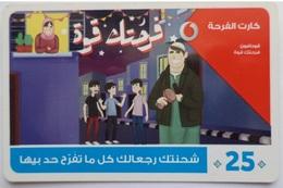 EGYPT - Happiness  Card 25 L.E, Vodafone , [used] (Egypte) (Egitto) (Ägypten) (Egipto) (Egypten) - Egipto