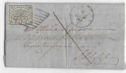 ETATS DE L'EGLISE - 1867 - LETTRE De VELLETRI - Papal States