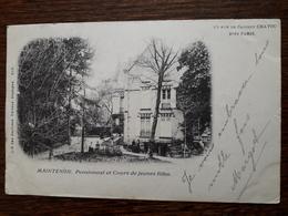 L5/61 Chatou. Rue De Croissy .Maintenon. Pensionnat Et Cours De Jeunes Filles - Chatou