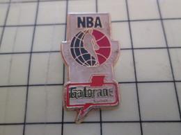 512h Pin's Pins : Rare Et Belle Qualité  SPORTS / BASKET-BALL USA NBA GATORADE - Basketball