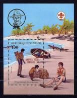 "Rep. Niger **  Bloc N° 45  - Scouts ""Mophila 85 Hambourg"" - Niger (1960-...)"