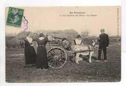 - CPA EN PROVENCE (06) - La Cueillette Des Olives - Le Départ (belle Animation Avec Attelage) - Editions Braun N° 1 - - France