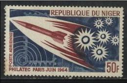 Niger Space Exploration (1v) MNH (M-28) - Space