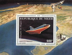 Niger Space Exploration Navette Spatiale M/Sheet MNH (M-28) - Niger (1960-...)