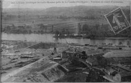 L'usine électrique De Calès Mauzac Près De La Linde, Travaux En Cours D'exécution - Francia