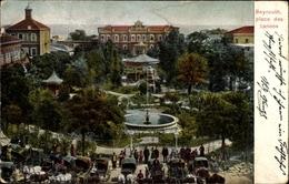 Cp Beirut Beyrouth Libanon, Place Des Canons, Gartenanlage, Springbrunnen - Inde