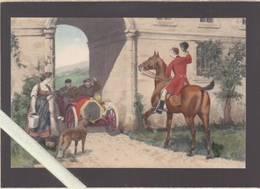 Illustrateur - M.M.Vienne - M.Munk 536 - Le Salut Du Cavalier De Chasse à Courre à L'auto - Künstlerkarten