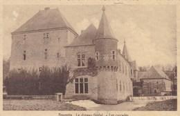 Spontin, Le Château Féodal, Les Cascades (pk49604) - Rebecq