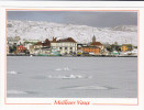 Saint-Pierre Et Miquelon - Saint-Pierre - Bas De La Ville Enneigé Et Port Dans Les Glaces - Saint-Pierre-et-Miquelon