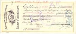 Wissel - Reçu - Steenkoolmijnen Laura & Vereeniging - Eijgelshoven - Heerlen - Hulst 1941 - Lettres De Change