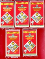 CHALLENGER 5 JEUX TEST DE 10 à 12 ANS N°1 à 5 DES ANNÉES 1992 AVEC BIBENDUM MICHELIN MANGO MAGNARD - NOTRE SITE Serbon63 - Jeux De Société