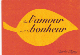 Charles Péguy -- Ecrivain Et Poète -- 1873 - 1914 -- De L'Amour Naît Le Bonheur -- Croix Rouge Française - Schriftsteller