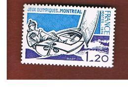 FRANCIA  (FRANCE) -  SG 2139   -       1976   OLYMPIC GAMES: YACHTING     - MINT ** - Francia