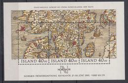 IJSLAND - Michel - 1990 - BL 11 - MNH** - Blocs-feuillets