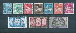 Colonie Timbres D'algérie De 1927/30  N°78 A 85 Série Complète Oblitéré Cote 65€ - Argelia (1924-1962)