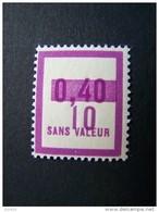 FICTIFS NEUF ** N°F 69 SANS CHARNIERE (FICTIF F69) - Phantomausgaben