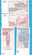 1991  4 STUECK MAKEDONIEN MAKEDONIJA MAZEDONIA SELTEN RRR  LUKS - Macedonia