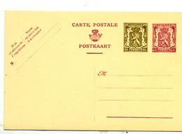 Belgique Entier 121 FN Neuf - Stamped Stationery
